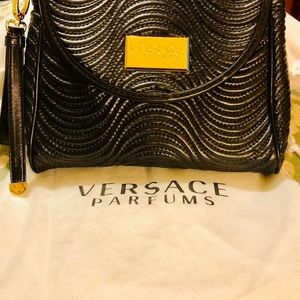 Versace Parfums Clutch Wristlet with Dust Cover